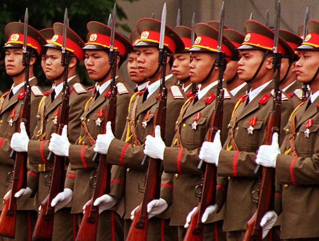 Солдаты Вьетнама