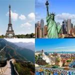 Cамые туристические страны мира — ТОП 10