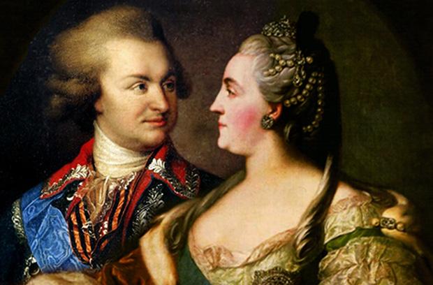 Потемкин и Екатерина ІІ