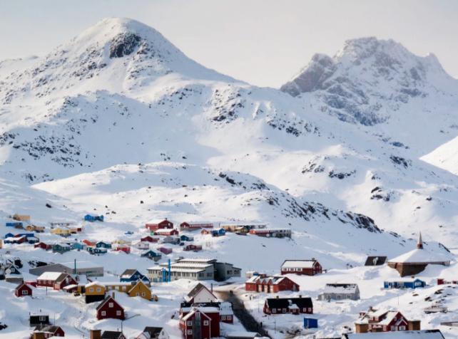 Гренландия зимой