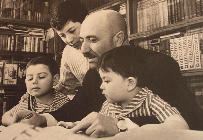 Кулиев и дети