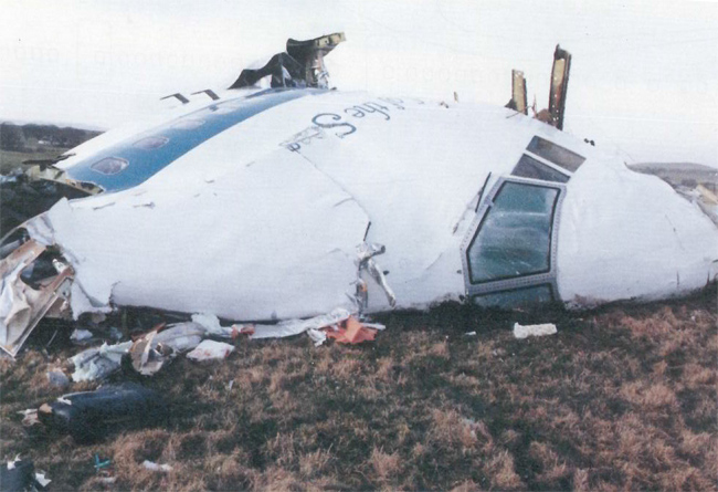 Обломки самолета авиакомпании Pan AM