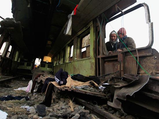 Пожар Египетского поезда