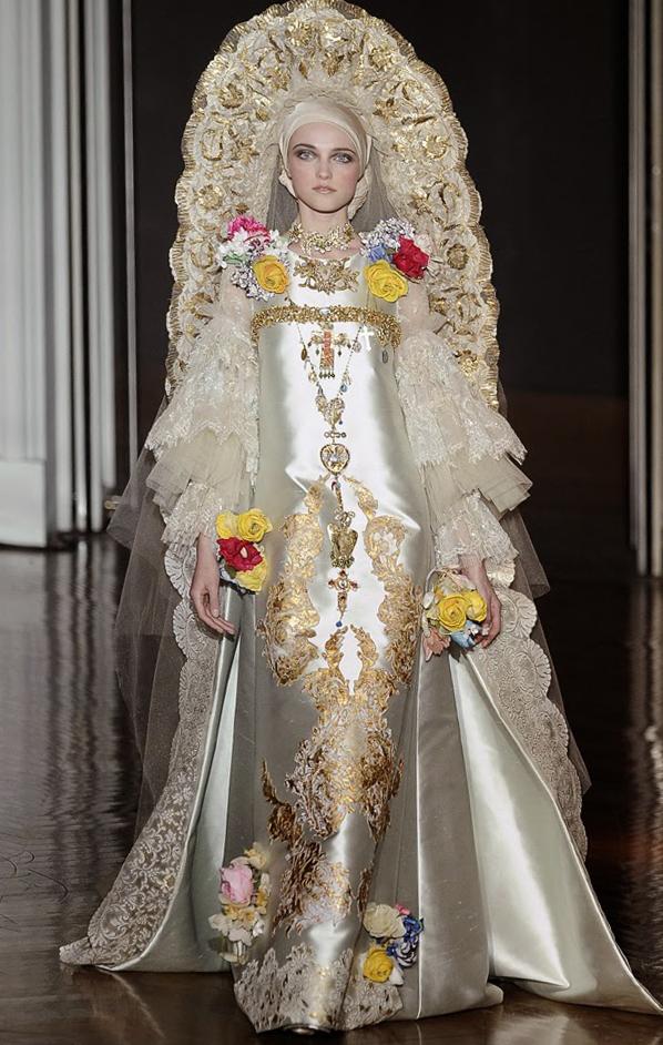 Платье Кристиана Лакруа