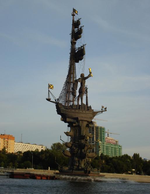 Статуя Петра Первого