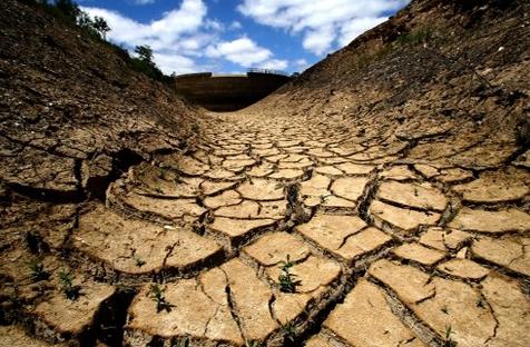 Выжженная земля от глобального потепления