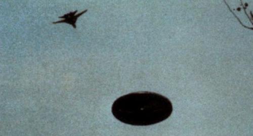 Истребитель и НЛО