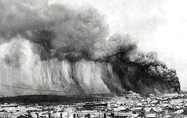 Цунами из-за извержения вулкана Кракатау, 1883 год