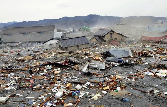 Сендайское землетрясение в Японии