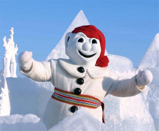 Зимний фестиваль в Квебеке