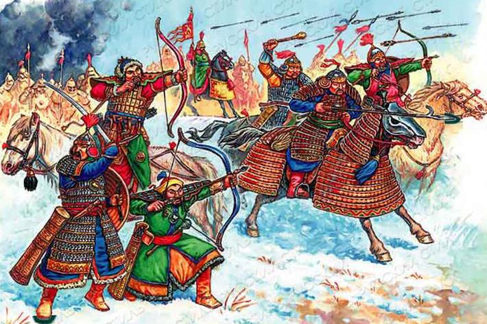 войны Монгольской Империи 13- 15 века