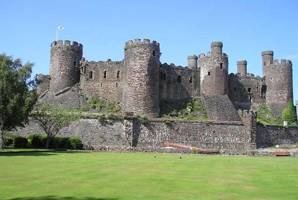 Замок Конуи, Уэльс