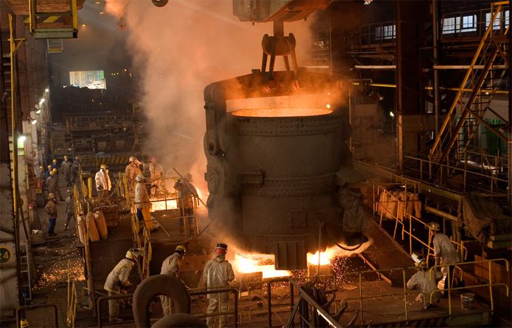 Завод в Японии