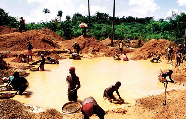 Добыча в Анголе