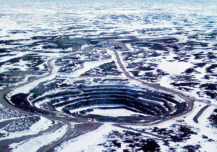 Добыча алмазов в Канаде