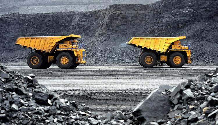Добыча угля в США