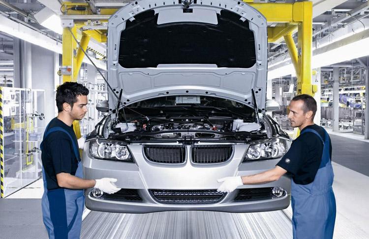 Производство авто в Германии