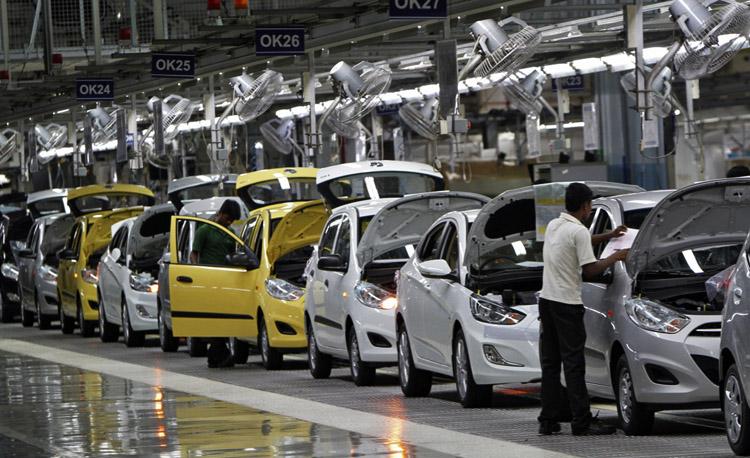 Производство в Индии