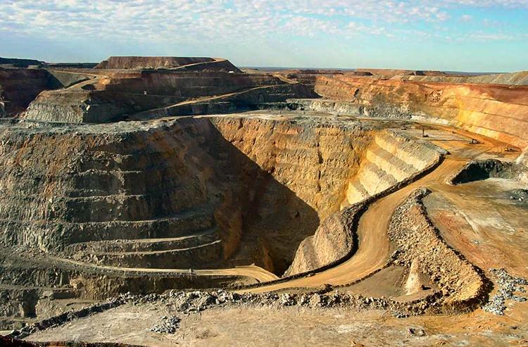 Добыча золота в Австралии