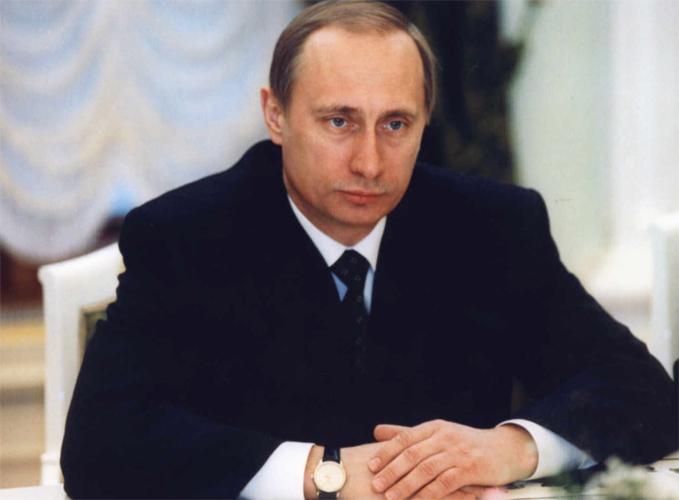 Путин 2000 г.