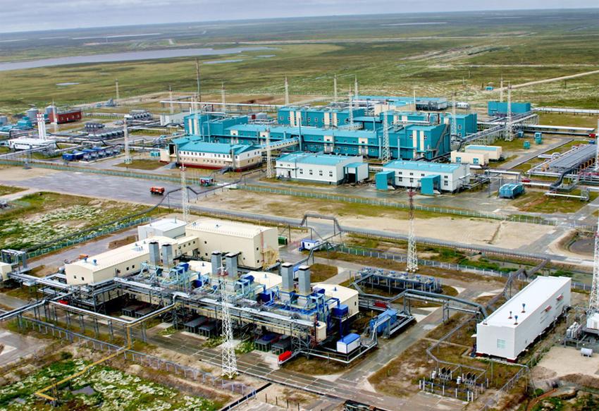 Добыча газ в России