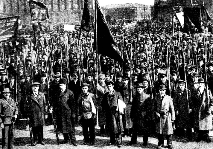 Восстание в Петрограде
