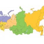 Самые крупные области России