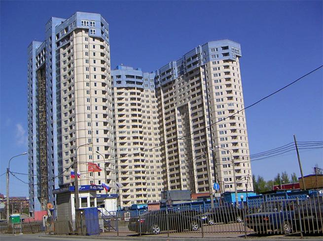 Жилое здание на Богатырском проспекте