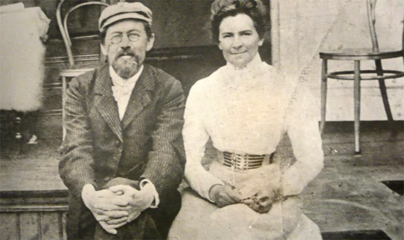 Чехов и Ольга Книппер