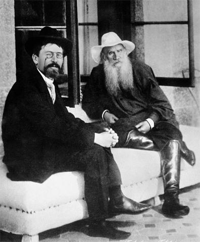 Чехов и Лев Толстой