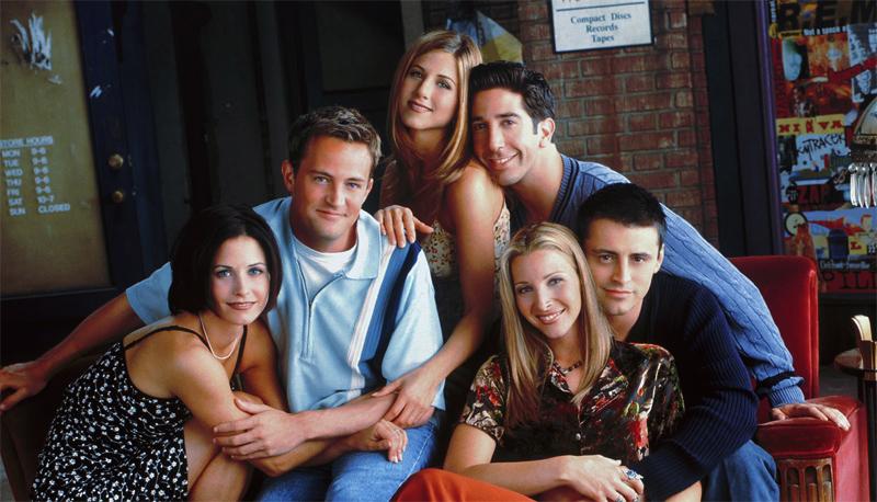Кадр из сериала друзья