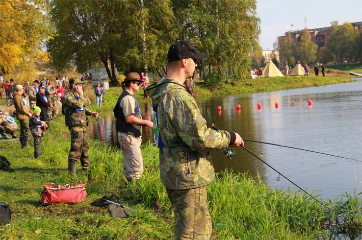 Соревнование по рыбной ловле