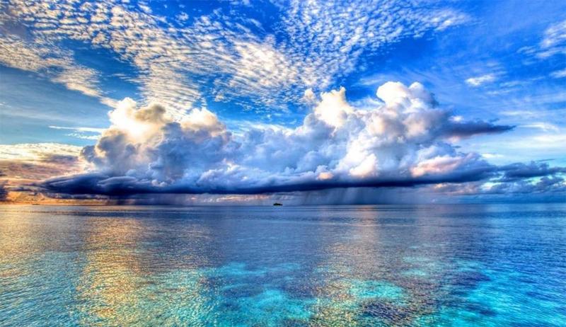 Красивый Индийский океан