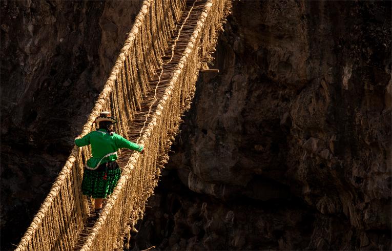 Мост из травы