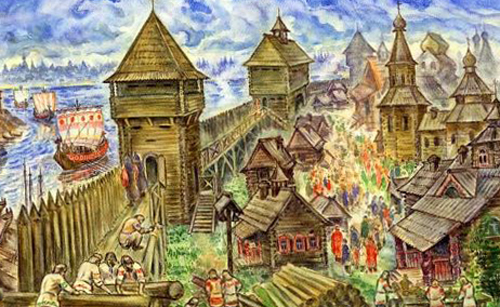 Новгород в прошлом