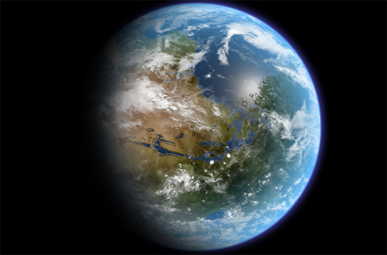 Воздух на планете
