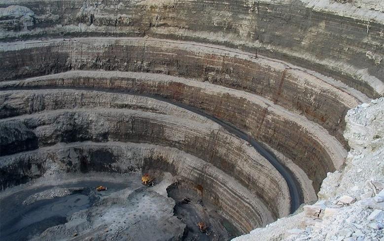Добыча алмазов в США