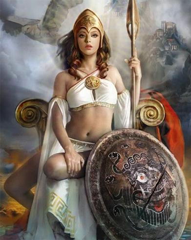 Прекрасная Афина