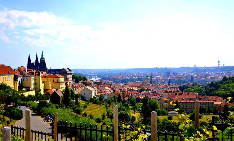 Вид на Чехию