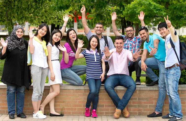 Английские студенты
