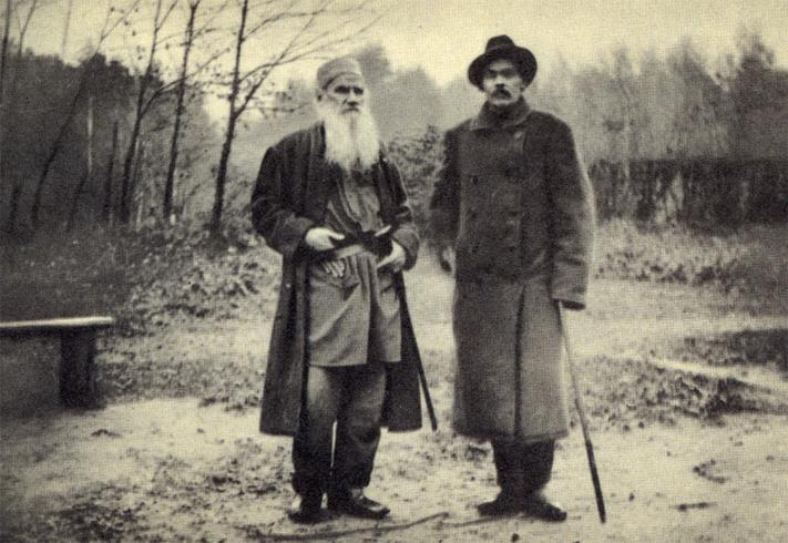 Толстой и Горький