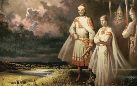 Игорь и Ольга