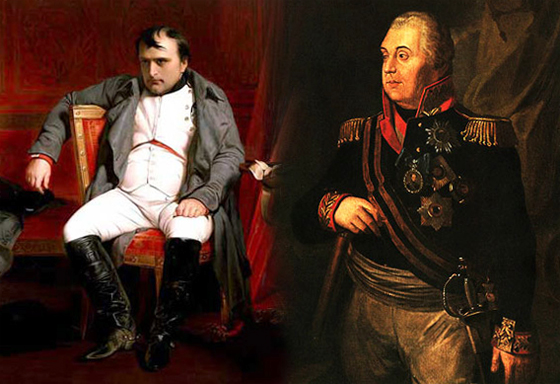 Кутузов и Наполеон