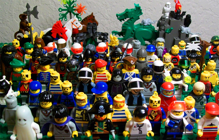 Человечки Лего