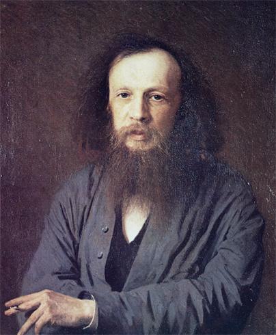Менделеев с бородой