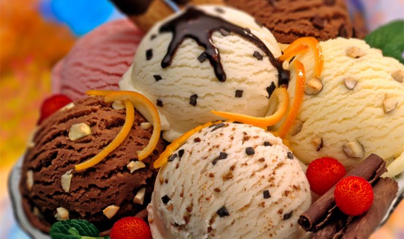 Вкусное мороженное