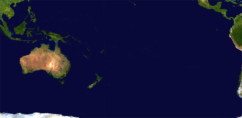 Деление Океании