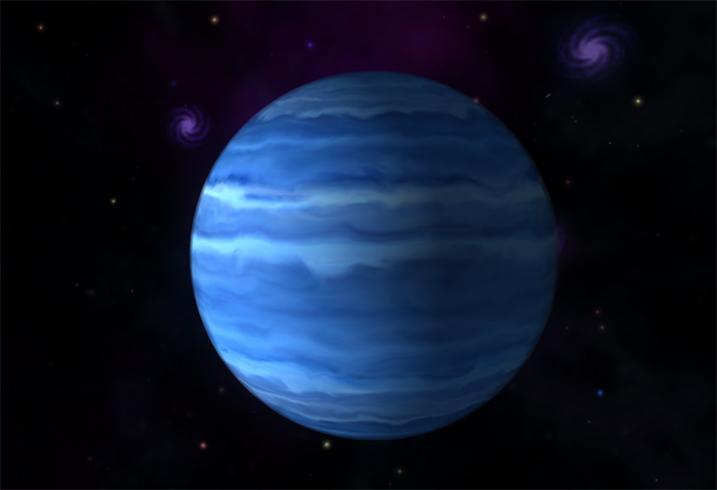 Вид Урана