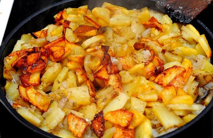 Картошка с луком