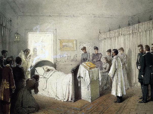 Смерть Александра 3